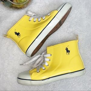 POLO RALPH LAUREN | 1 Youth  Lace Up  Rain Shoes